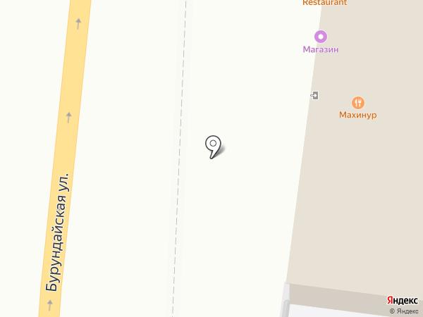 Махинур на карте Алматы