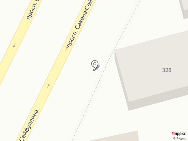 ЮНА на карте Алматы