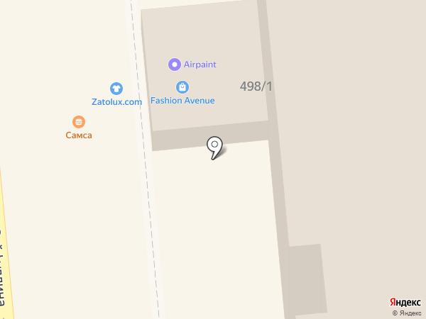 Макао на карте Алматы