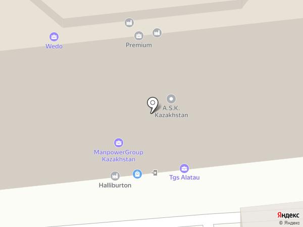 Cyber Center Almaty на карте Алматы