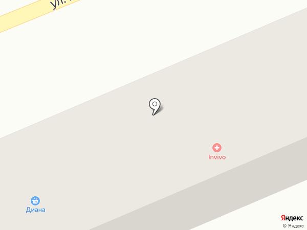 Диана на карте Первомайского
