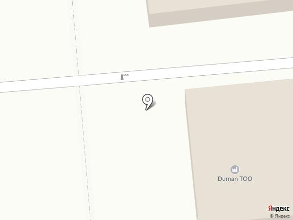 Жоломан БМА на карте Алматы