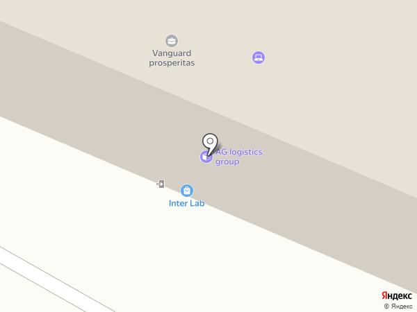 Транспортно-логистическая компания на карте Алматы