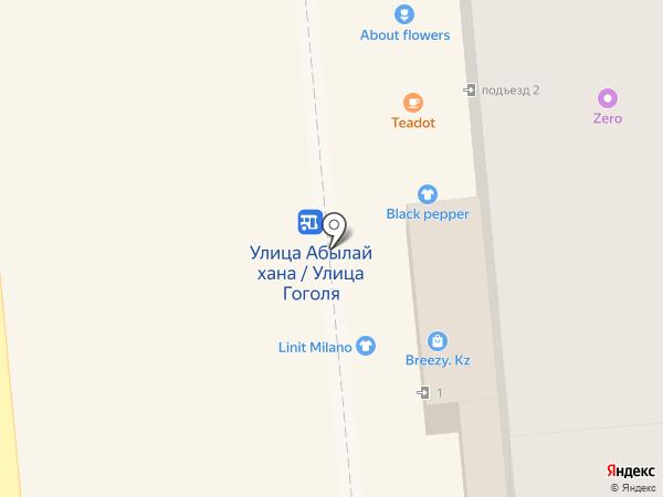 ASP на карте Алматы