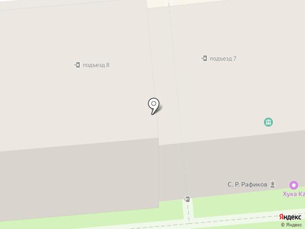 Солнечный Феншуй на карте Алматы