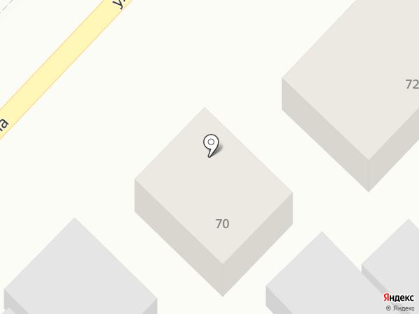 Эсмира на карте Первомайского