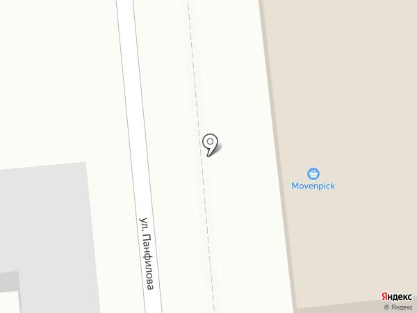 ALVIP, ТОО на карте Алматы