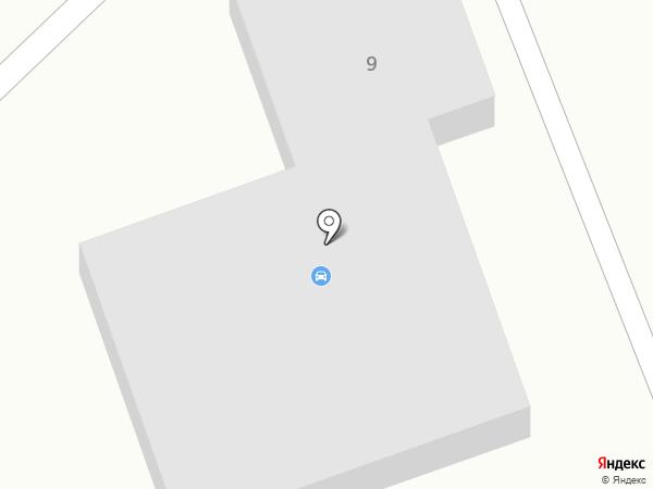 Служба эвакуации на карте Первомайского