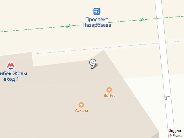 Local на карте Алматы