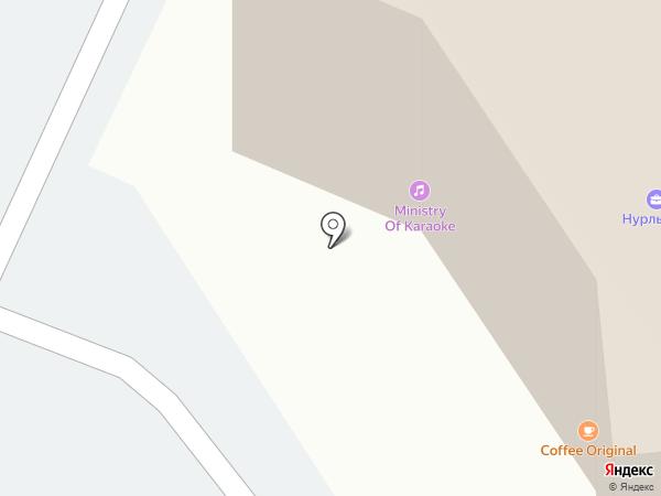 Точка Проката на карте Алматы