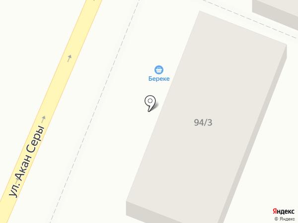 Нияла на карте Алматы