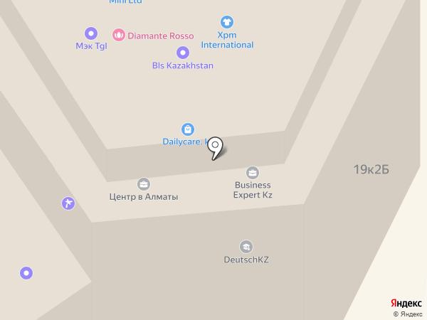 ODYSSEYA на карте Алматы
