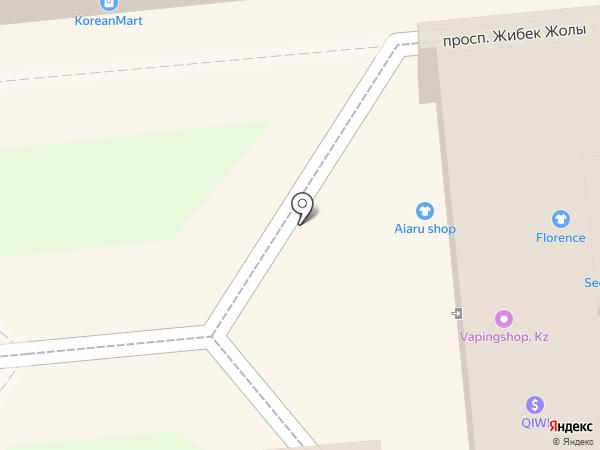 XENIYA VALITOVA на карте Алматы