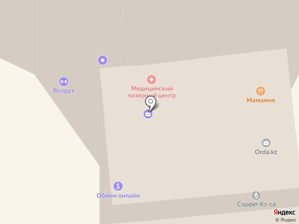 РУССКИЙ РЕГИСТР ЕВРАЗИЯ, ТОО на карте Алматы