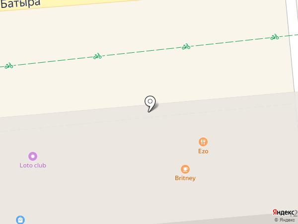 JUST cafe на карте Алматы