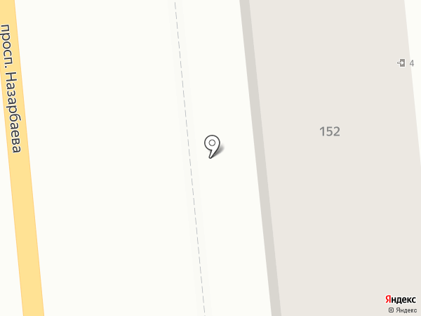 Ноготок на карте Алматы