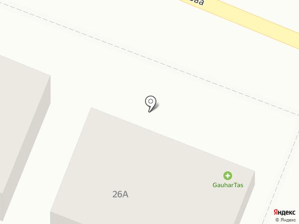 Гаухар Тас Фарм, ТОО на карте Алматы