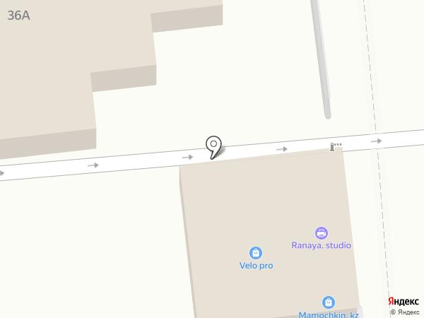 Ерлан на карте Алматы
