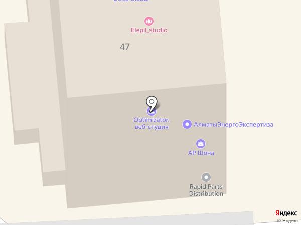 Подружка на карте Алматы