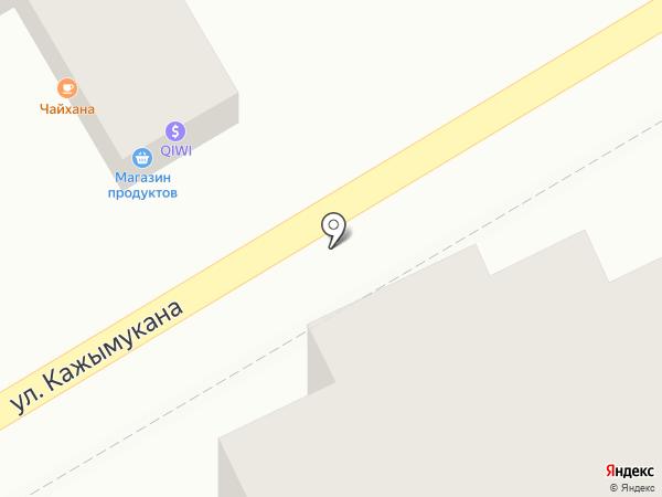 Аманат на карте Алматы