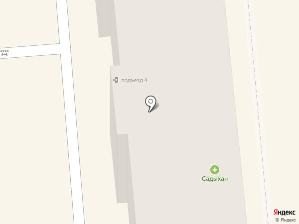 Барик на карте Алматы