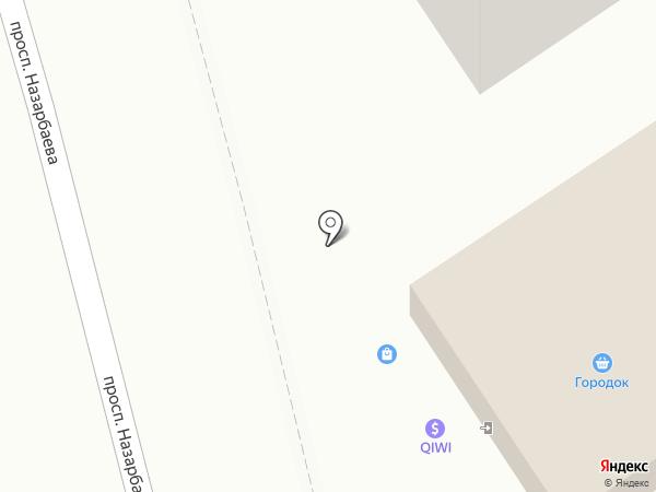 Магазин хозяйственных товаров и бытовой химии на карте Алматы