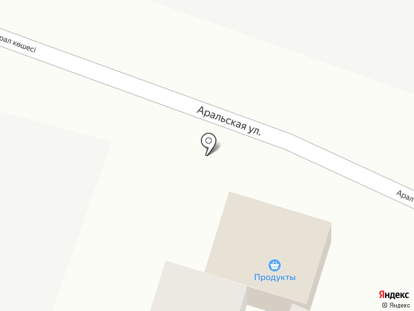 АЛИ на карте Алматы