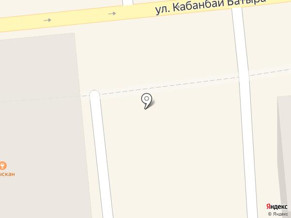 Hot Dogs Corner на карте Алматы