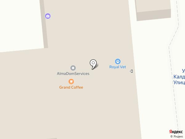 Hock International, ТОО на карте Алматы