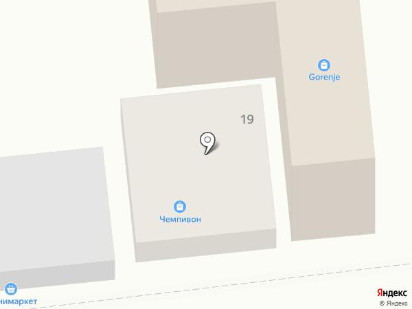 TENGE на карте Алматы