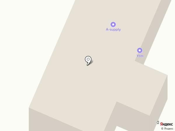 Автопартнер на карте Алматы