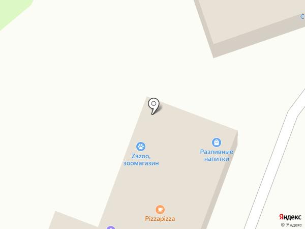 Турксиб на карте Алматы