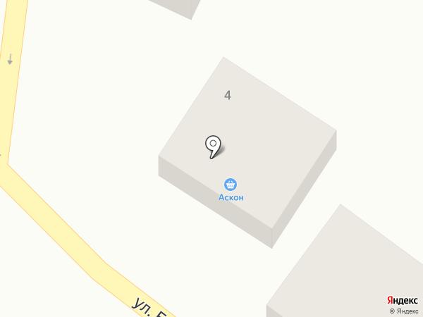 Аскон на карте Алматы