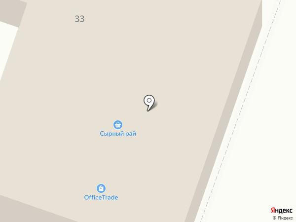 OfficeTrade на карте Алматы