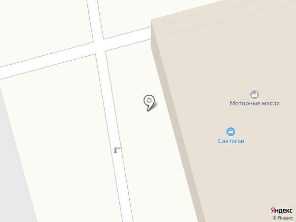 Сактаган, ТОО на карте Алматы
