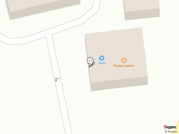 Шукур на карте Алматы