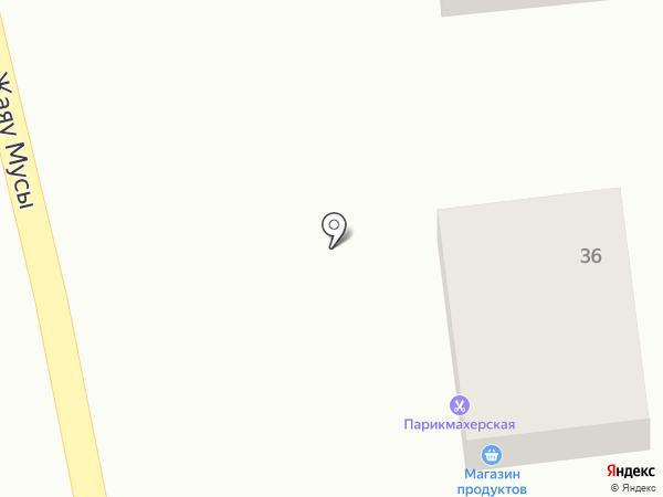 Тахмина на карте Алматы
