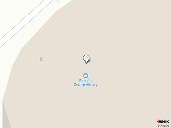 Porsche Centre Almaty на карте Алматы