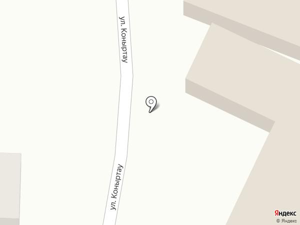 Моншак на карте Алматы