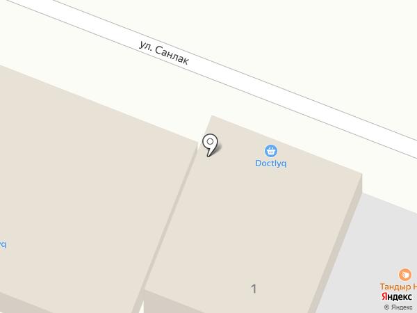 Гулдала-со на карте Алматы