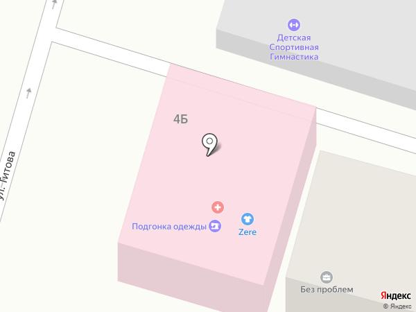 Жупар на карте Отегена Батыра