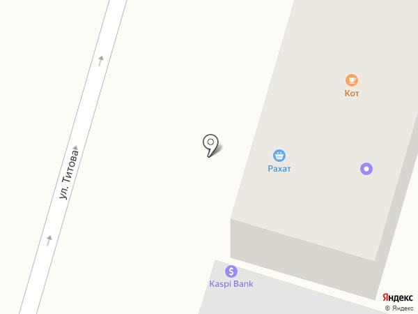 Laki на карте Отегена Батыра