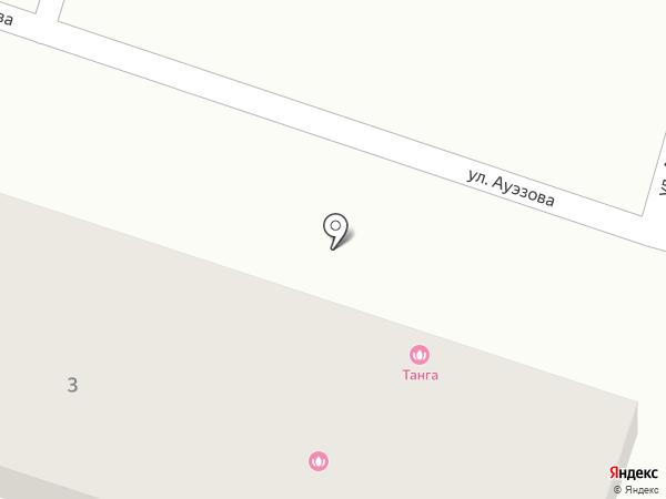 Ансар на карте Отегена Батыра