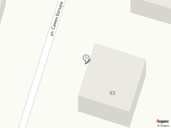 Мебельный салон на карте Отегена Батыра