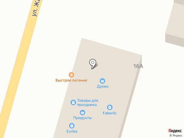 Светлана, продовольственный магазин на карте Отегена Батыра