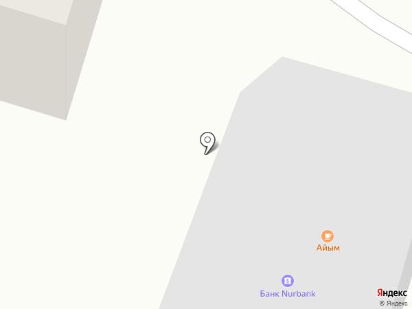 Бай на карте Отегена Батыра