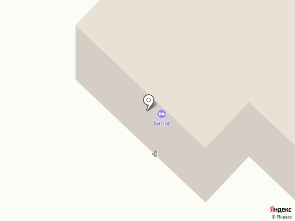 Samal на карте Алматы