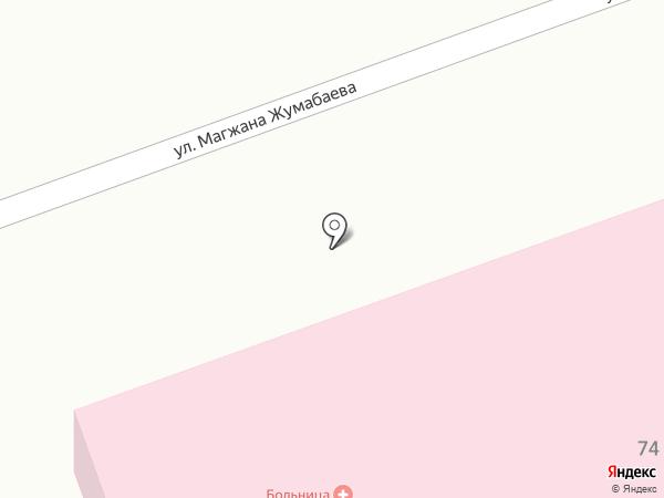 Врачебная амбулатория пос. Бесагаш на карте Бесагаш