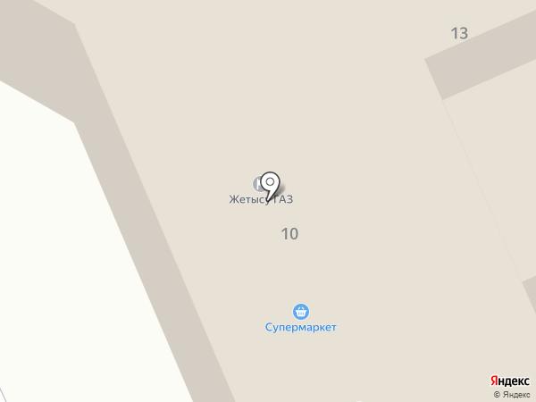 Хан на карте Бесагаш