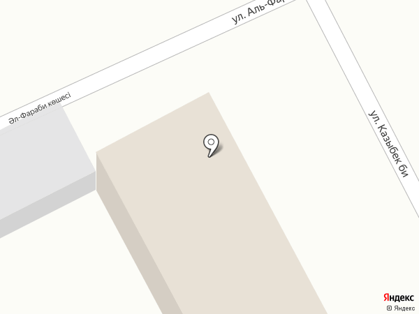 Алатау, магазин одежды на карте Гульдалы